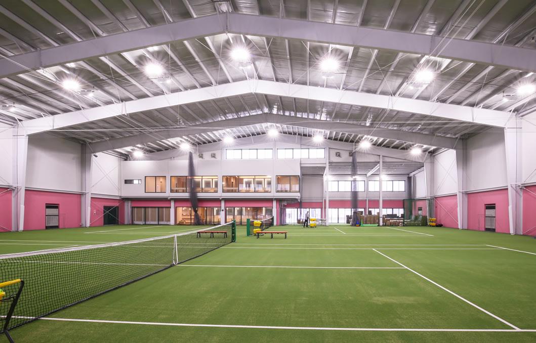 インドアテニススクールラフ 大橋東校